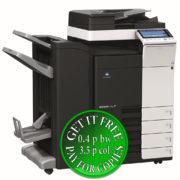 Colour Copier Lease Rental Offer Konica Minolta Bizhub C224 DF 624 FS 534 SD 511 PC 210 Left