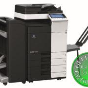 Colour Copier Lease Rental Offer Konica Minolta Bizhub C224 DF 701 FS 534 SD 511 PC 210 BT C1 Left