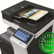Colour Copier Lease Rental Offer Konica Minolta Bizhub C224 Document Feeder Right