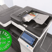 Colour Copier Lease Rental Offer Konica Minolta Bizhub C224 Office