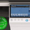 Colour Copier Lease Rental Offer Konica Minolta Bizhub C224 Panel Front