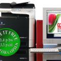 Colour Copier Lease Rental Offer Konica Minolta Bizhub C25 Copier Office