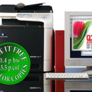 Colour Copier Lease Rental Offer Konica Minolta Bizhub C25 Copier Office