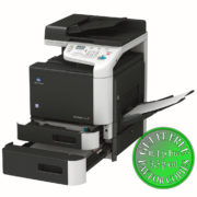 Colour Copier Lease Rental Offer Konica Minolta Bizhub C25 PT1 PT2 OT OpenTray