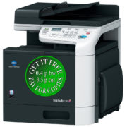 Colour Copier Lease Rental Offer Konica Minolta Bizhub C25 Right View