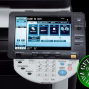 Colour Copier Lease Rental Offer Konica Minolta Bizhub C280 Panel