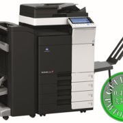 Colour Copier Lease Rental Offer Konica Minolta Bizhub C284 FS 534 SD 511 DF 701 PC 210 BT C1e Left