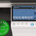 Colour Copier Lease Rental Offer Konica Minolta Bizhub C284 Panel Front
