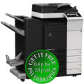 Colour Copier Lease Rental Offer Konica Minolta Bizhub C308 DF 704 FS 534SD PC 210 Left
