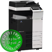 Colour Copier Lease Rental Offer Konica Minolta Bizhub C308 DF 704 OT 506 PC 210 Left