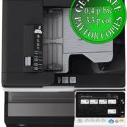 Colour Copier Lease Rental Offer Konica Minolta Bizhub C308 DF 704 OT 506 PC 210 Top