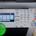 Colour Copier Lease Rental Offer Konica Minolta Bizhub C35 Panel View
