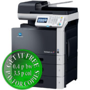 Colour Copier Lease Rental Offer Konica Minolta Bizhub C35 Right View