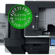 Colour Copier Lease Rental Offer Konica Minolta Bizhub C364 DF 701 FS 534 SD 511 PC 210 Top