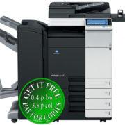 Colour Copier Lease Rental Offer Konica Minolta Bizhub C364 DF 701 FS 534 SD 511 PC 210 WT 506 AU 102 Front
