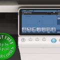 Colour Copier Lease Rental Offer Konica Minolta Bizhub C364 Panel Front