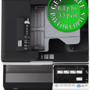 Colour Copier Lease Rental Offer Konica Minolta Bizhub C368 DF 704 OT 506 PC 210 Top