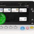 Colour Copier Lease Rental Offer Konica Minolta Bizhub C368 Panel Front