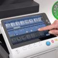 Colour Copier Lease Rental Offer Konica Minolta Bizhub C368 Panel Front Touch Control