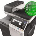 Colour Copier Lease Rental Offer Konica Minolta Bizhub C3850 SideView