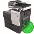 Colour Copier Lease Rental Offer Konica Minolta Bizhub C3850 SideView Special