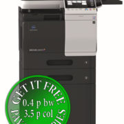 Colour Copier Lease Rental Offer Konica Minolta Bizhub C3850FS Mainbody FP 2xPF P13 WT P02 FSP03 DK P03