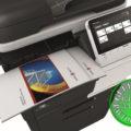 Colour Copier Lease Rental Offer Konica Minolta Bizhub C3850FS Top Paper Stacks