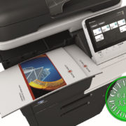 Colour Copier Lease Rental Offer Konica Minolta Bizhub C3850FS Top Paper Stacks