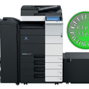Colour Copier Lease Rental Offer Konica Minolta Bizhub C454 DF 701 FS 534 SD 511 PC 210 LU 204 Front