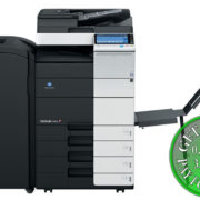 Colour Copier Lease Rental Offer Konica Minolta Bizhub C454 FS 534 SD 511 PC 210 BT C1e Front