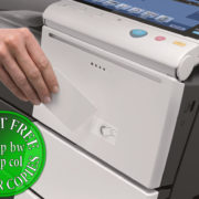 Colour Copier Lease Rental Offer Konica Minolta Bizhub C454 Security Card Authentication