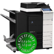 Colour Copier Lease Rental Offer Konica Minolta Bizhub C554 DF 701 FS 534 SD 511 PC 210