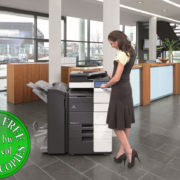 Colour Copier Lease Rental Offer Konica Minolta Bizhub C554 Office 365
