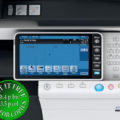 Colour Copier Lease Rental Offer Konica Minolta Bizhub C554 Panel Opened Overhead