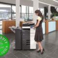 Colour Copier Lease Rental Offer Konica Minolta Bizhub C654 Office 365