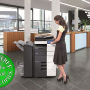 Colour Copier Lease Rental Offer Konica Minolta Bizhub C654 Office 365