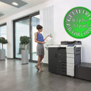 Colour Copier Lease Rental Offer Konica Minolta Bizhub C654 Office 365 Special