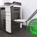Colour Copier Lease Rental Offer Konica Minolta Bizhub C654 Office Finisher Banners Printing
