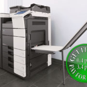 Colour Copier Lease Rental Offer Konica Minolta Bizhub C654 Office Finisher Banners Printing