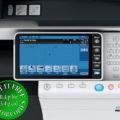 Colour Copier Lease Rental Offer Konica Minolta Bizhub C654 Panel Opened Overhead