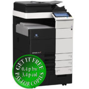 Colour Copier Lease Rental Offer Konica Minolta Bizhub C754