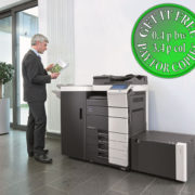 Colour Copier Lease Rental Offer Konica Minolta Bizhub C754 Office CEO
