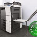 Colour Copier Lease Rental Offer Konica Minolta Bizhub C754 Office Finisher Banners Printing