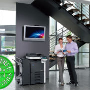 Colour Copier Lease Rental Offer Konica Minolta Bizhub C360 FS-527 SD-509 DF-617 Office 365