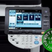 Colour Copier Lease Rental Offer Konica Minolta Bizhub C360 Panel