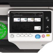 Colour Copier Lease Rental Offer Konica Minolta Bizhub C227 DF 628 OT 506 PC 214 Panel Keypad