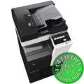 Colour Copier Lease Rental Offer Konica Minolta Bizhub C227 DF 628 OT 506 PC 214 Side