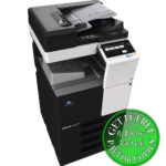 Colour Copier Lease Rental Offer Konica Minolta Bizhub C227 DF 628 OT 506 PC 214 Side Special