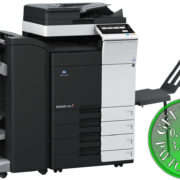 Colour Copier Lease Rental Offer Konica Minolta Bizhub C258 DF-704 FS-534SD BT-C1e PC-210 Left