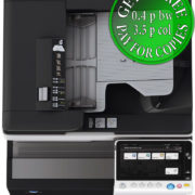 Colour Copier Lease Rental Offer Konica Minolta Bizhub C258 DF-704 OT-506 PC-210 Top